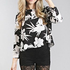 Show Me Your MuMu Claudia Crop Top Small